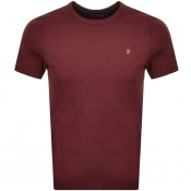 Product Image for Farah Vintage Dennis T Shirt Red